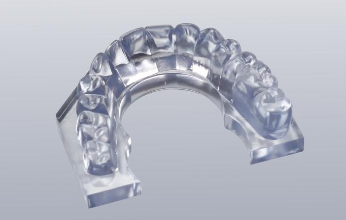 Dental Model (Transparent Effect)