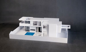 The 3D Printing Architectural Model Villa of ProtoFab is Three-dimensional and Vivid, Presenting the Design Concept Perfectly